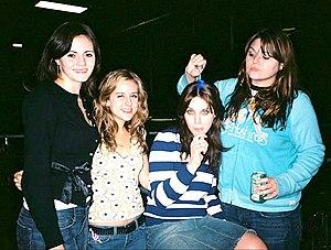 The Donnas im November 2004; Quelle: de.wikipedia.org