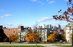 Dorchester Heights - Image: Dorchester Heights Historic District South Boston MA 01