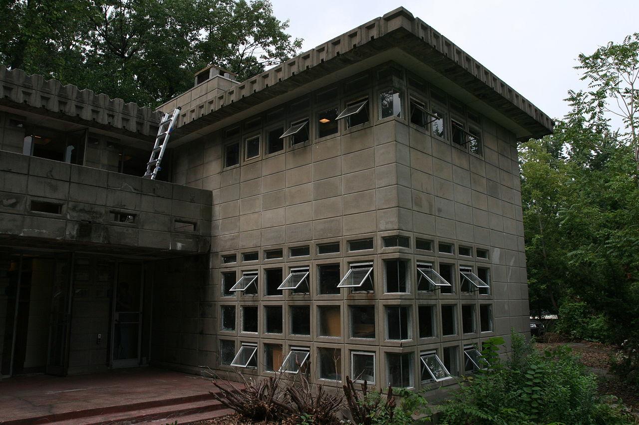 File:Dorothy Turkel House Exterior - FLW, Architect - 1955 ...