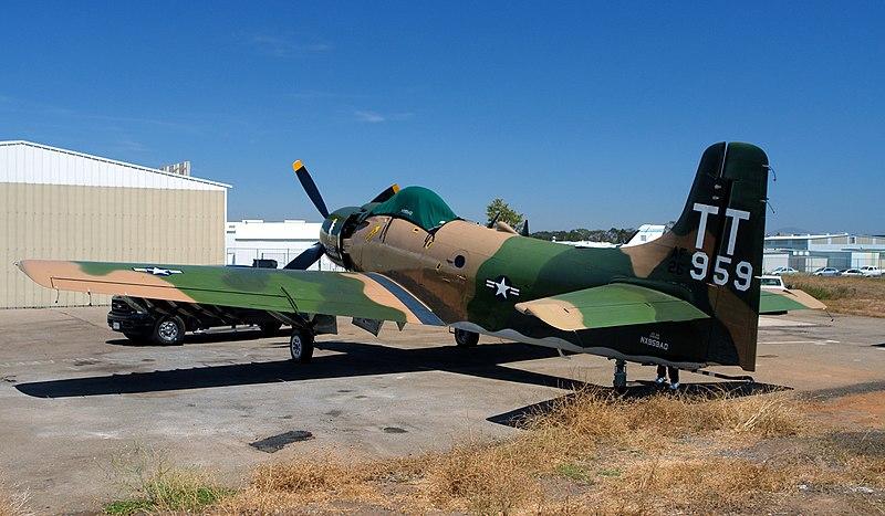 File:Douglas-Skyraider---Naked-F.jpg