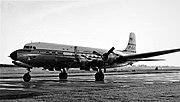 Douglas DC-6B N6531C PAA Heathrow 09.54