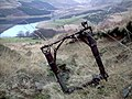 Douglas Dakota wreckage of undercarriage - geograph.org.uk - 352460.jpg