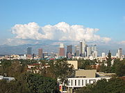 Downtown Los Angeles, from the University of Southern California