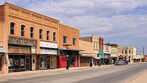 Haskell, Texas - Downtown Haskell