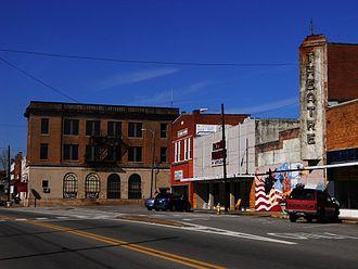 Roanoke, Alabama - Downtown Roanoke, Alabama
