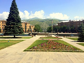 Hayk Square cultural heritage monument of Armenia