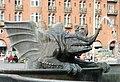 Dragon Fountain detail, Copenhagen - DSC08862.JPG