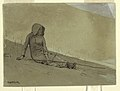 Drawing, Girl Seated on a Hillside, 1878 (CH 18175277).jpg