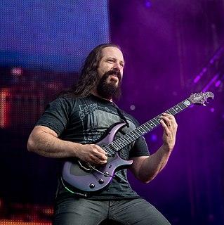 John Petrucci American guitarist