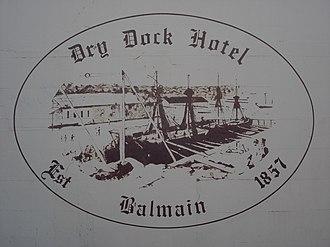 Dry Dock Hotel - Image: Dry Dock Hotel Balmain 2