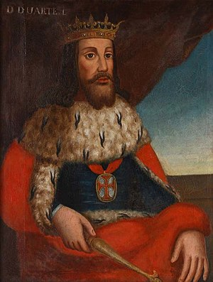 Edward, King of Portugal - A Portrait of Edward.
