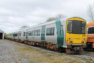 IE 2700 and 2750 Classes - 2701 stored at Inchicore Works in April 2016