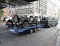 Dukelských hrdinů, vojenské auto na přívěsu (01).jpg