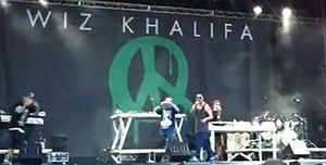 Duke Montana - Duke Montana opening Wiz Khalifa's Italian tour in Milan.