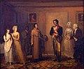 """Dunlap, Scene from James Fenimore Cooper's """"The Spy"""" (1823).jpg"""