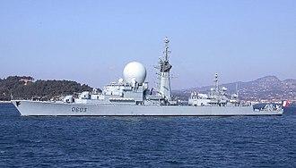 French frigate Duquesne (D603) - Frigate Duquesne