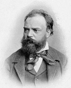 Antonín Dvořák, fotografie z roku 1886
