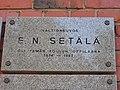 E.N.Setala oli taman koulun oppilaana... laatta kuvattu v.2018.jpg