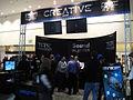 E3 2011 - Creative booth (5822668994).jpg