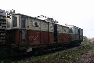 Athens–Piraeus Electric Railways - Freight railcar 41