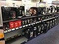 ELKJØP (consumer electronics retailer) husholdningsprodukter espressomaskin (cofee maker) - supermarket interior shelves aisles - Tønsberg Norway 2017-11-02.jpg