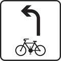 E 16a - Povolený smer jazdy cyklistov (vzor) 3.png