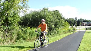 East Coast Greenway - Ride on the East Coast Greenway in Maine