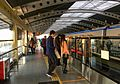 Eastbound platform of Shangdi Station (20170301165115).jpg