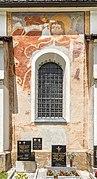 Ebenthal Radsberg Pfarrkirche hl. Lambert S-Wand Christophorus-Fresko 12062019 6762.jpg