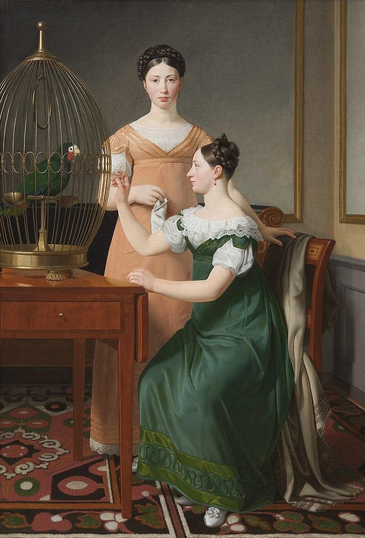 Eckersberg - Bella og Hanna M.L. Nathansons ældste døtre.jpg