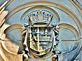 Ecusson au-dessus du portail de l'ancienne abbaye.de Masevaux.jpg