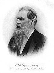E. B. Tylor, 19th-century British anthropologist.