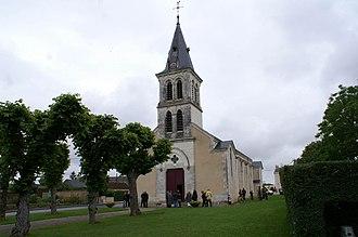 Argy - The church in Argy
