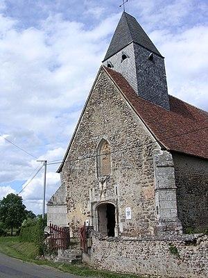 Les Autels-Villevillon - Image: Eglise Notre Dame de Villevillon
