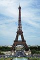 Eiffel Tower, view from the Trocadero, 5 July 2011.jpg