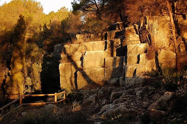 Roman quarry of El Mèdol
