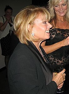 "Elaine Paige a la gala final de ""Voice of Musical Theatre"" de la BBC Radio 2 (2006)"