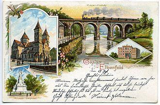 Elberfeld - Elberfeld ca 1899