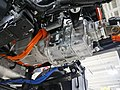 Electric motor and transmission in a truck.jpg
