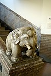 Elephant statue at Tsukiji Hongwanji.jpg