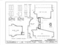 Elioenai Clark Tavern, Old Litchfield Turnpike, Woodbridge, New Haven County, CT HABS CONN,5-WOOD,1- (sheet 11 of 12).png