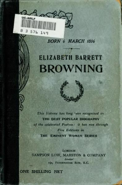 File:Elizabeth Barrett Browning (Ingram, 5th ed.).djvu