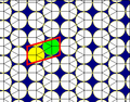 Elongated triangular tiling circle packing.png