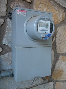 smart meter each local mesh networked smart meter has a hub such as this elster a3 type a30 which interfaces 900mhz smart meters to the metering automation server via a