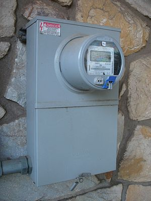 Smart meter - Image: Elster A3 Alpha Type A30 electricity meter collector