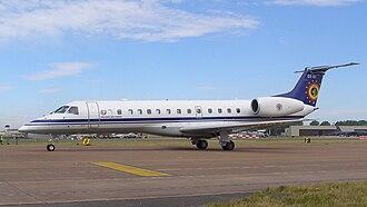 Belgian aircraft registration and serials - Image: Embraer 135 Belgian Air Force 1287