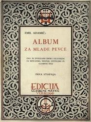 Emil Adamič: Album za mlade pevce