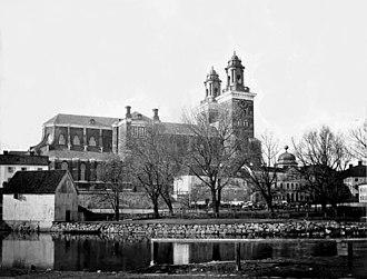 Emma Schenson - Image: Emma Schenson Uppsala domkyrka, 1860