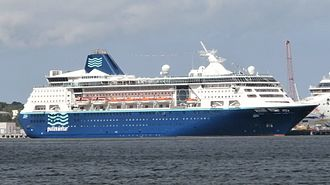 Empress of the Seas - MS Empress, in Tallinn, Estonia on 15 June 2013.