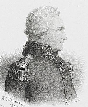 Antoine Bruni d'Entrecasteaux - Portrait in Voyage to Australia and the Pacific 1791–1793